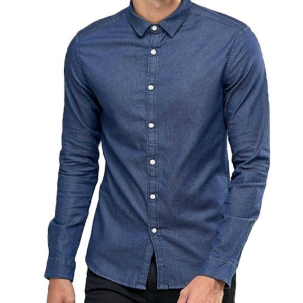 Breathable Custom Denim Shirt Manufacturer