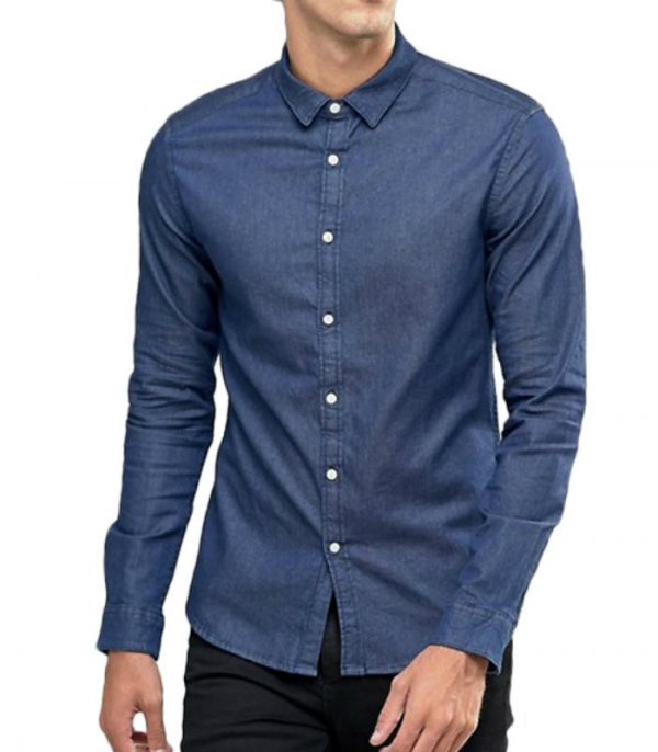 Breathable Custom Denim Shirt Manufacturer