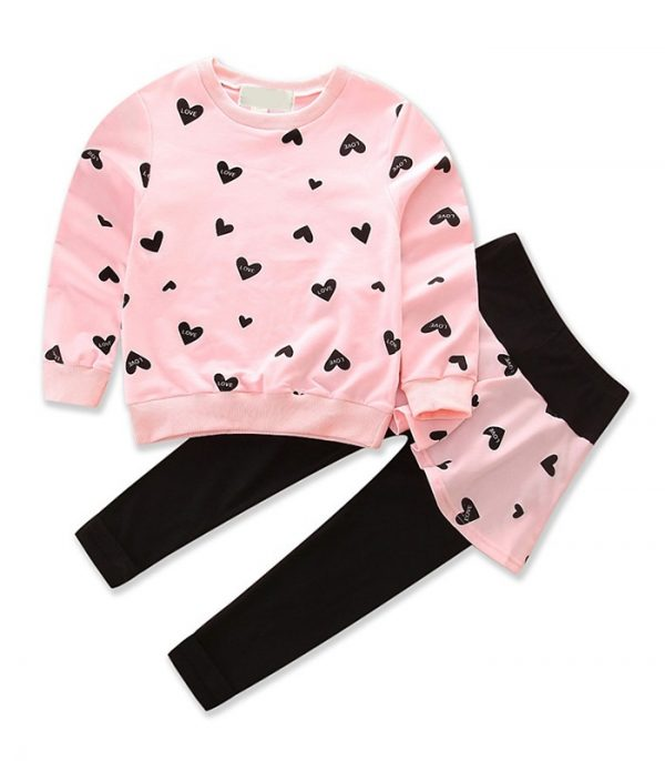 Girl Long Sleeve Cotton Clothing Manufacturer