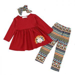 Girls Long Sleeved Clothing Sets Manufacturer