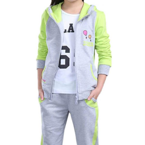 Kids Pink Sports Casual Clothing Manufacturer