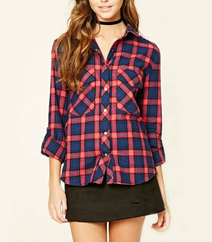 Ladies Flannel Shirts Manufacturer