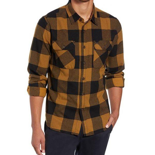 Latest Design Men Flannel Shirt Manufacturer