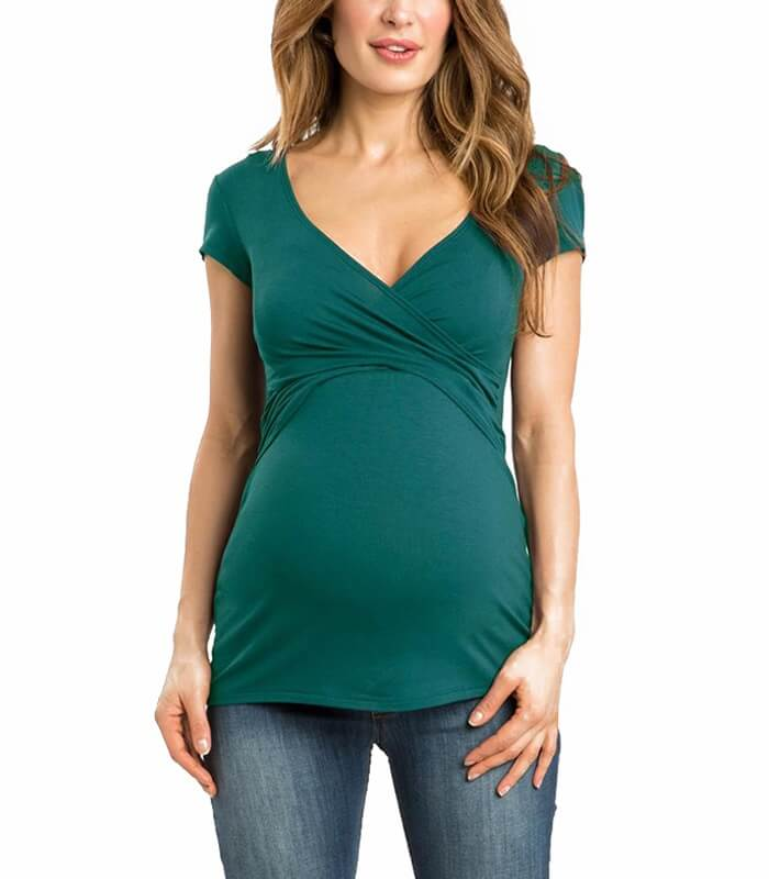 Solid Maternity Tshirt Manufacturer