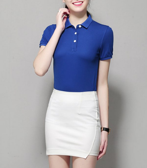 Women Cotton Golf Tshirt Manufacturer