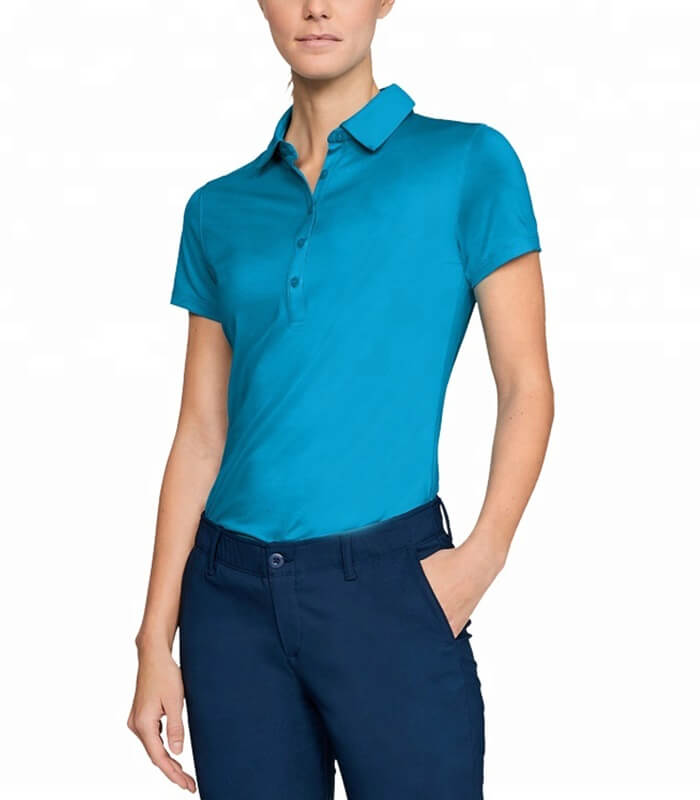 Womens Customize Sports Polo Tees Manufacturer