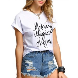 ladies t shirt manufacturers