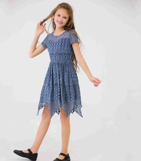 wholesales girls lace dresses