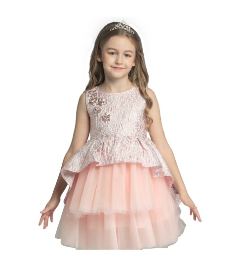elegant ruffles kids clothes wholesales