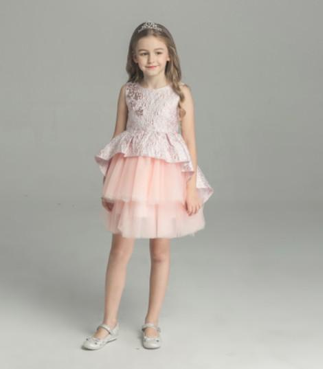 wholesales elegant ruffles kids clothes