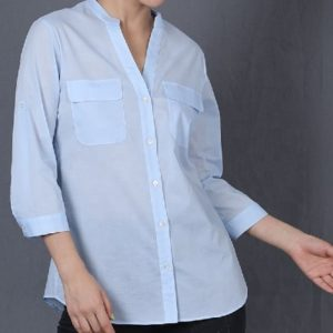 Plain lady shirts