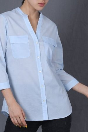 Plain lady shirts