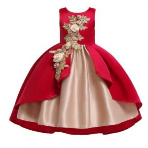 girls long dress manufacturers