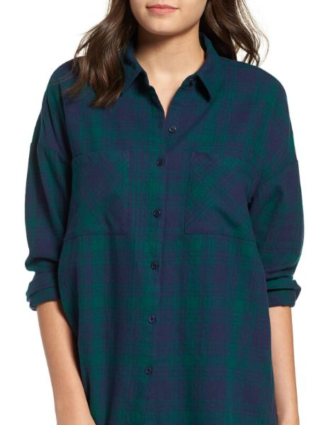 wholesale red and black plaid shirt for women