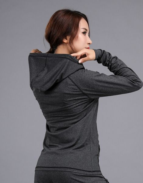 wholesale women dr-fit sports jacket with zipper