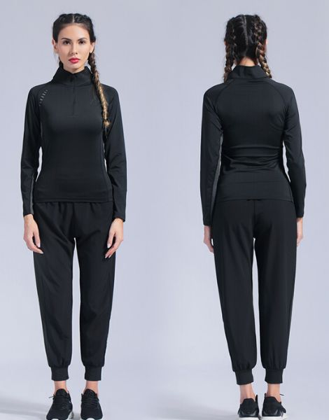 custom seamless fitness tracksuits for women