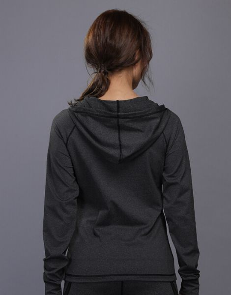 custom women dr-fit sports jacket with zipper