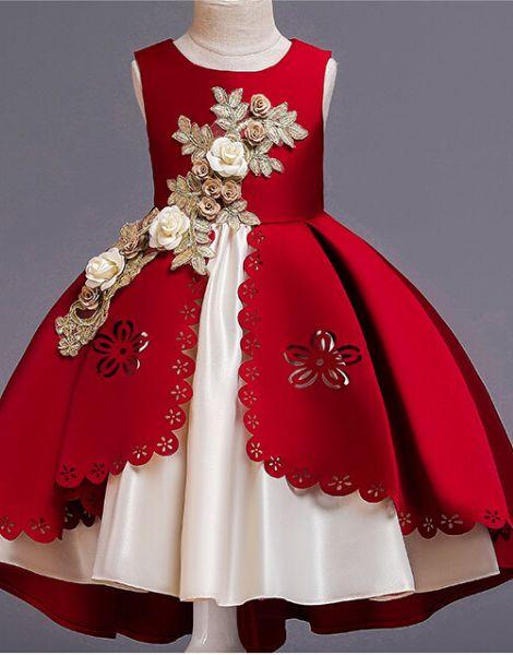custom girls bow dress