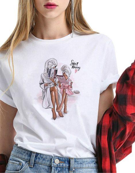wholesale printed short sleeve women top