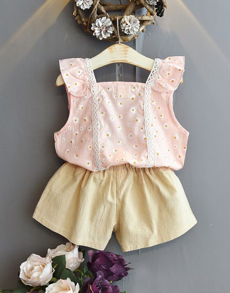 custom summer clothing sets for girls manufacturers