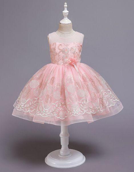 bulk evening party dress for little girl