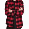 custom dual pocket flannel shirt
