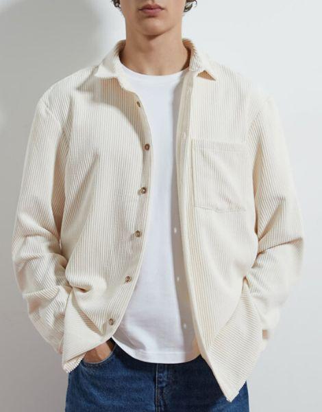 wholesale bulk corduroy shirts for men