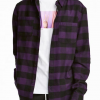 wholesale dual pocket flannel shirt