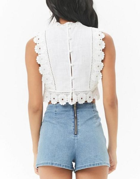 wholesale embroidered crop top manufacturers