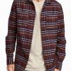 bulk dual pocket flannel shirt