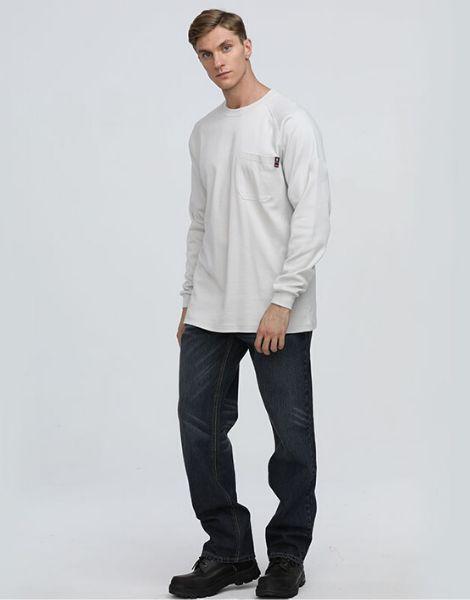 bulk flame resistant full sleeve t shirt