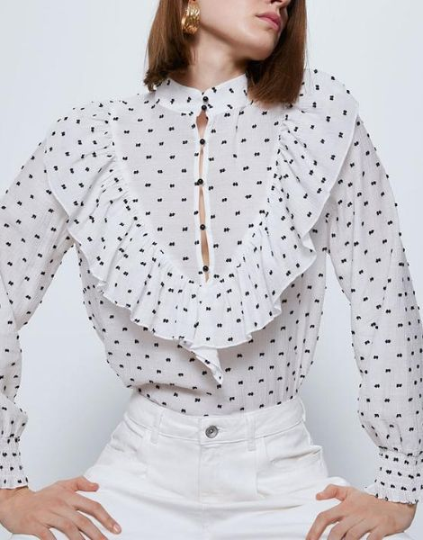 wholesale womens full sleeve top with collar manufacturers