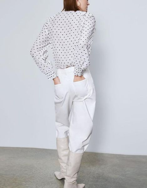 wholesale bulk womens full sleeve top with collar