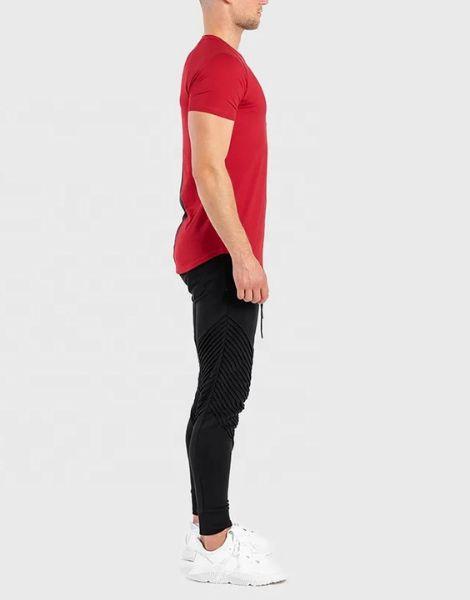 wholesale bulk back stiped workout t-shirts for men