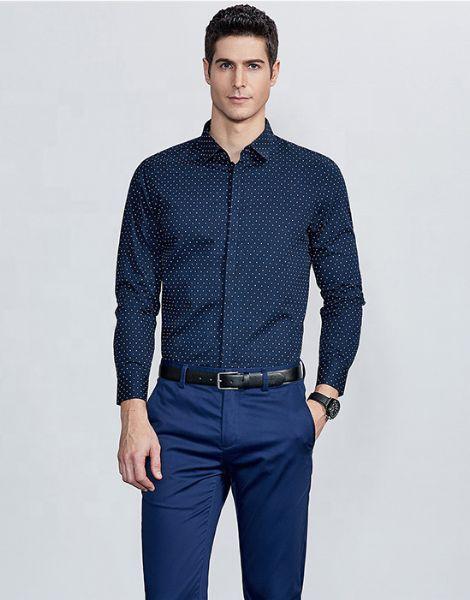 custom classic dobby formal shirts manufacturers