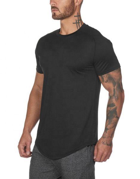 wholesale Bottom Shaped Men's Workout T-shirts