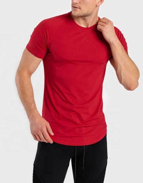 bulk back stiped workout t-shirts for men