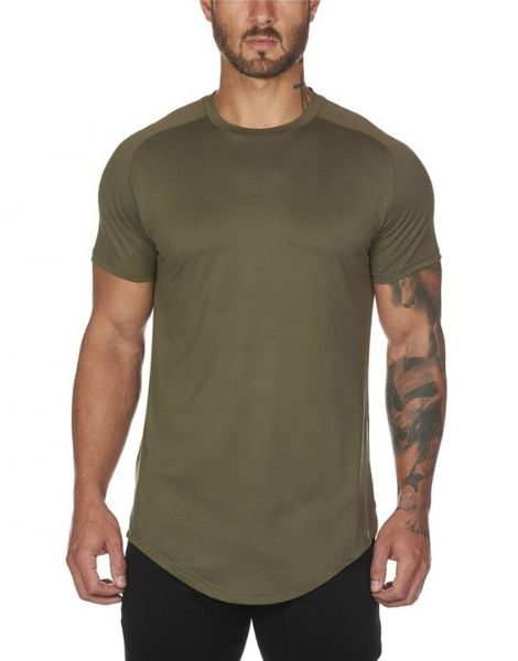bulk Bottom Shaped Men's Workout T-shirts