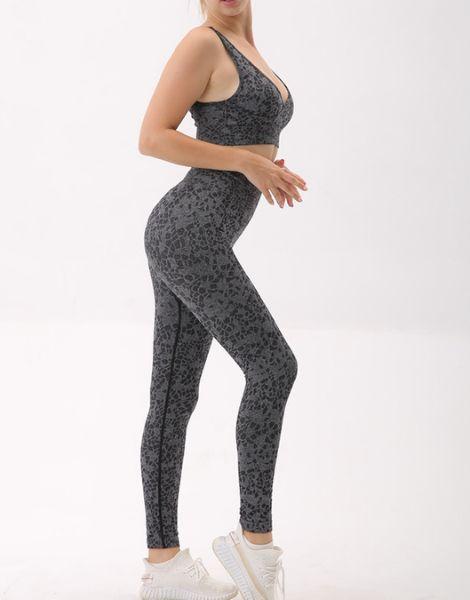 bulk leopard patterned breathable activewear set