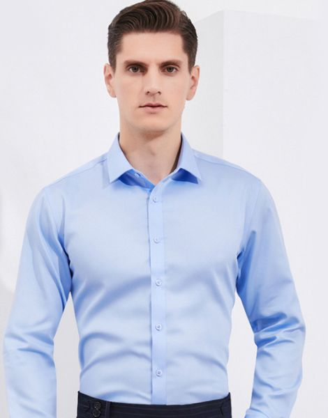 bulk men single color formal shirts