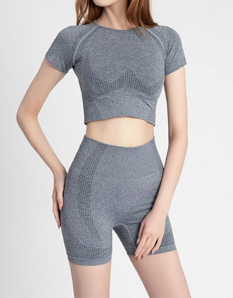 bulk seamless yoga short suit