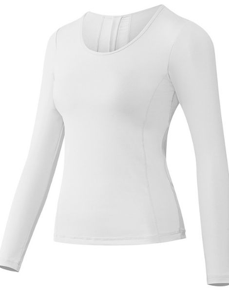 custom long sleeve female sports shirt manufacturers