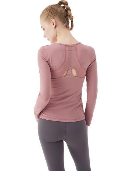 bulk long sleeve female sports shirt