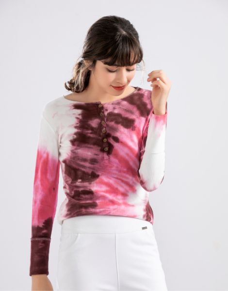 custom colorful tie-dye full sleeve shirts