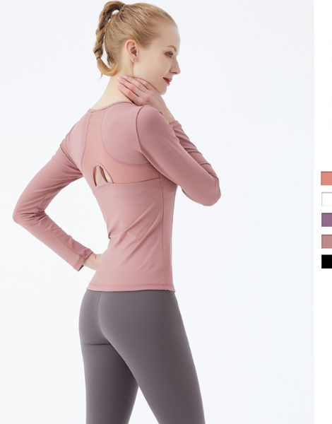 wholesale long sleeve female sports shirt
