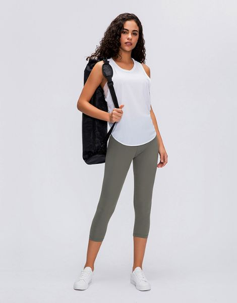 wholesale women yoga tank top with leggings