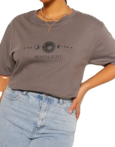 custom short sleeve printed women's t-shirt