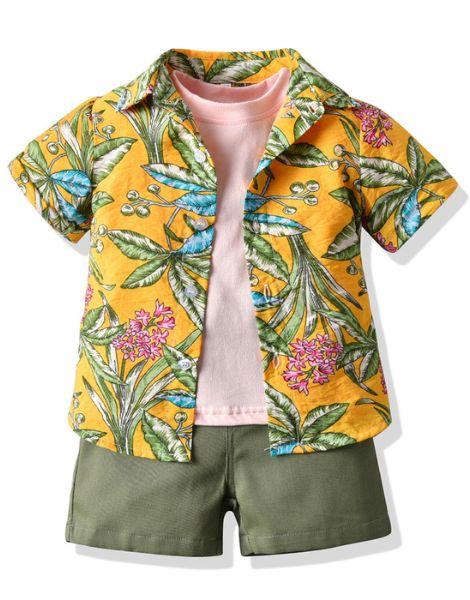 bulk 3 piece little boy boutique clothing set