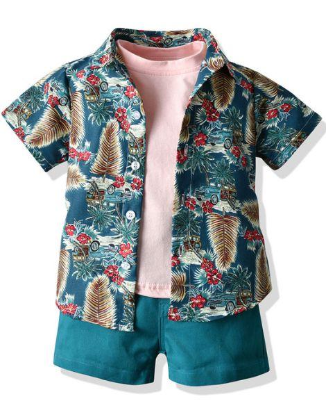 wholesale bulk 3 piece little boy boutique clothing set