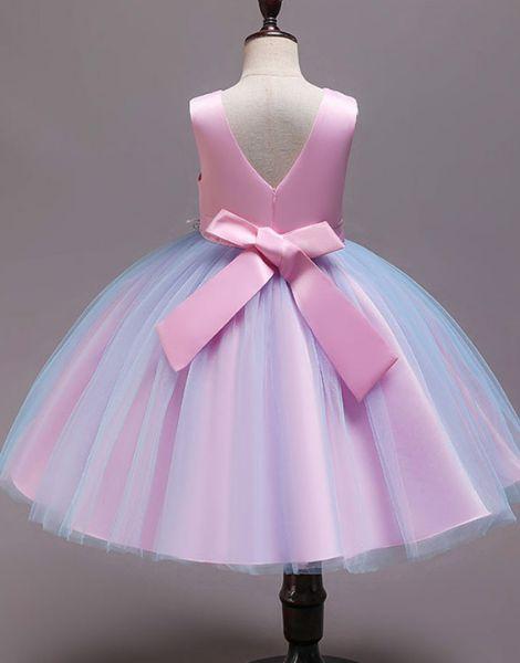bulk cotton partywear flower girls dress